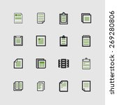 document icons | Shutterstock .eps vector #269280806