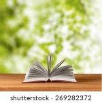 book  print  studying. | Shutterstock . vector #269282372