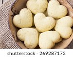 heart shaped cookies. from... | Shutterstock . vector #269287172