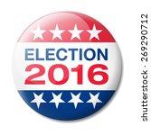 badge election 2016 | Shutterstock .eps vector #269290712
