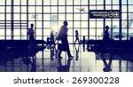 international departure... | Shutterstock . vector #269300228