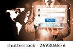 login and password | Shutterstock . vector #269306876