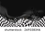 race  checkered flag background ...