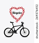 bike design over white...   Shutterstock .eps vector #269376452