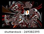 abstract illustration...   Shutterstock . vector #269382395