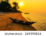 Sunset On The Beach Of Bang Po...