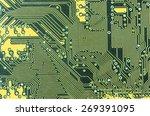 modern circuit board | Shutterstock . vector #269391095