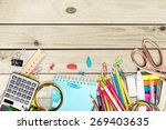 school  design  background. | Shutterstock . vector #269403635
