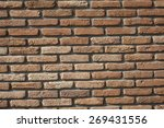 wall texture background | Shutterstock . vector #269431556