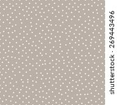 seamless anthracite gray... | Shutterstock .eps vector #269443496