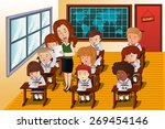 a vector illustration of... | Shutterstock .eps vector #269454146