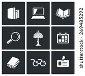 library icons.  | Shutterstock . vector #269485292