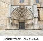 Architectural Entrance Of Sain...