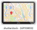 global positioning system ... | Shutterstock .eps vector #269538032