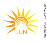 Sun Symbol. Abstract Vector...