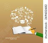 vector illustration of the... | Shutterstock .eps vector #269602682