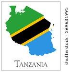 vector illustration of tanzania ... | Shutterstock .eps vector #269631995