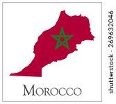 vector illustration of morocco... | Shutterstock .eps vector #269632046