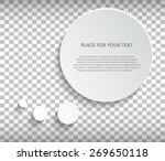 abstract creative concept... | Shutterstock .eps vector #269650118