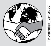 conceptual illustration of a... | Shutterstock . vector #26965792