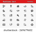 real estate icons. professional ... | Shutterstock .eps vector #269679602
