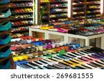 female shoes diversity at...   Shutterstock . vector #269681555