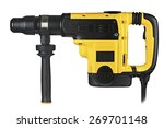 professional rotary hammer  on... | Shutterstock . vector #269701148