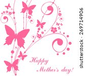 happy mother's day  greeting... | Shutterstock .eps vector #269714906