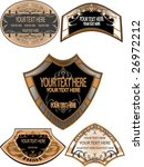 set of design vintage | Shutterstock .eps vector #26972212