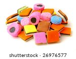 'liquorice 'all?sorts - stock photo