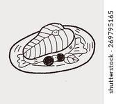 salmon doodle | Shutterstock . vector #269795165