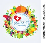 world health day concept....   Shutterstock .eps vector #269820326