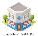 vector isometric icon... | Shutterstock .eps vector #269847155