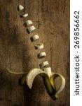 Levitating Sliced Banana