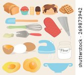 kitchen and cooking  food... | Shutterstock .eps vector #269873942