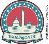 washington dc skyline | Shutterstock .eps vector #269894672