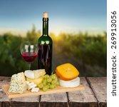 Wine  Cheese  Grape.