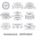 vintage retro design premium... | Shutterstock .eps vector #269916062