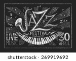 Vector Poster Of Jazz Festival...
