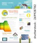 energy saving house...   Shutterstock .eps vector #269928782