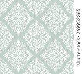 damask seamless pattern. ... | Shutterstock . vector #269952365
