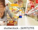 supermarket  shopping ... | Shutterstock . vector #269972795