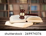 law  book  gavel.
