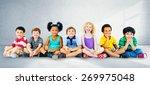 kids children diversity... | Shutterstock . vector #269975048