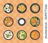 vector illustration of thai... | Shutterstock .eps vector #269977166