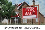 home for sale real estate sign... | Shutterstock . vector #269993462