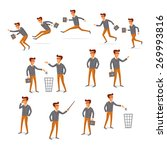 flat style modern people in... | Shutterstock .eps vector #269993816