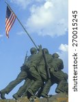 Statue Of Iwo Jima  U.s. Marin...