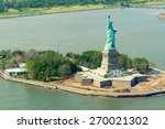 helicopter view of statue of... | Shutterstock . vector #270021302