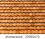 roof of the house from a tree | Shutterstock . vector #27003172